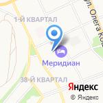 Радий на карте Ангарска
