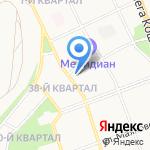 Средняя общеобразовательная школа №14 на карте Ангарска