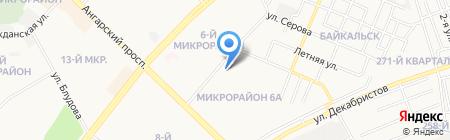 Травмпункт на карте Ангарска