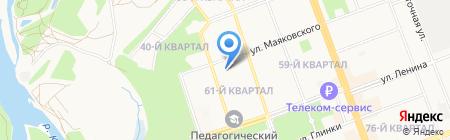 АрхСтройПроект на карте Ангарска