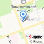 Департамент архитектуры и градостроительства на карте Ангарска