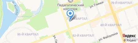 Управление архитектуры и градостроительства Администрации Ангарского муниципального образования на карте Ангарска