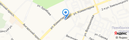 Viju на карте Ангарска
