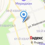 Территориальные органы пенсионного фонда РФ по Иркутской области на карте Ангарска