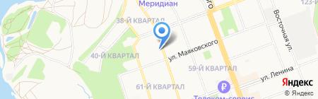 СФК на карте Ангарска