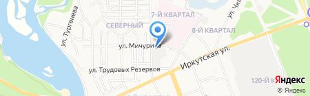 Мебель Лев на карте Ангарска
