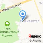 Пламя на карте Ангарска
