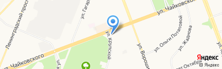 Adm на карте Ангарска