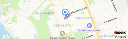 КОНТЕ-ОБОРУДОВАНИЕ на карте Ангарска