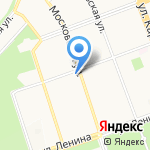 На Московской на карте Ангарска