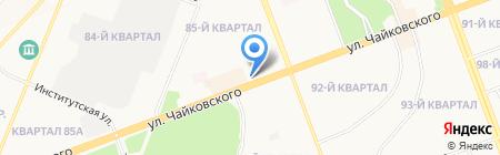 Альянс+ на карте Ангарска