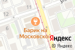 Схема проезда до компании На Московской в Ангарске