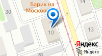 Компания На Московской на карте