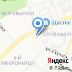 Главпроект на карте Ангарска