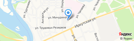 КОНСТРУКТОР на карте Ангарска