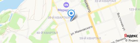 Евродент на карте Ангарска