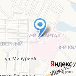 Иркутская областная инфекционная клиническая больница на карте Ангарска