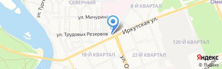 Стройкомплекс на карте Ангарска