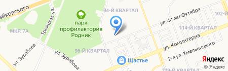 МаксАвто на карте Ангарска