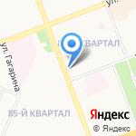 Элен на карте Ангарска