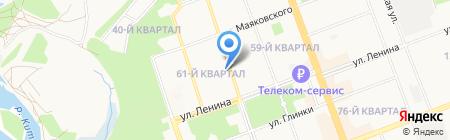 Bravo на карте Ангарска