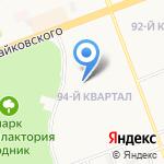 Начальная школа-детский сад №1 на карте Ангарска