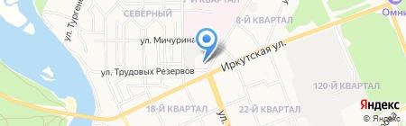Многопрофильная компания на карте Ангарска