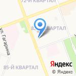 Кружка и бочка на карте Ангарска