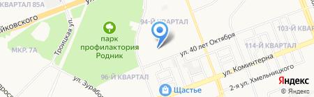 Арт-Медика на карте Ангарска