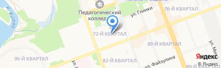 Детский сад №26 на карте Ангарска