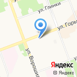 Рубеж+ на карте Ангарска