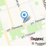 Сектор сервиса на карте Ангарска