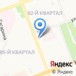 IRIS на карте Ангарска