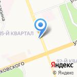 Манго-Тур на карте Ангарска