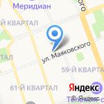 Детский сад №50 на карте Ангарска