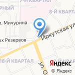Дельта Офис на карте Ангарска