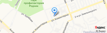 Флора на карте Ангарска