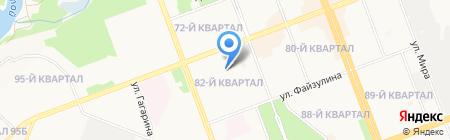 2 отдел полиции на карте Ангарска