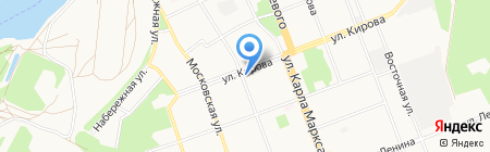 Соло на карте Ангарска