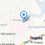 Городская больница №1 на карте Ангарска