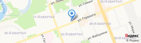 Золотой фонд на карте Ангарска