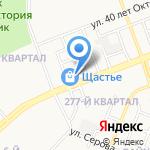 Фэмили на карте Ангарска