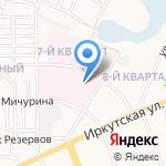 Поликлиника №1 на карте Ангарска