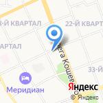 Продуктовый киоск на карте Ангарска