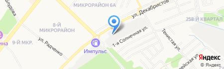 ГСК-4 на карте Ангарска