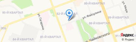 Детский сад №38 на карте Ангарска