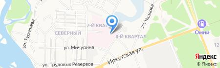 Банкомат Дальневосточный банк на карте Ангарска