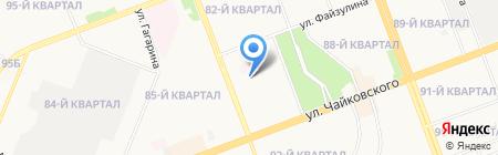 Детский сад №46 на карте Ангарска