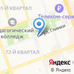 Адвокатский кабинет Иванец Д.С. на карте Ангарска