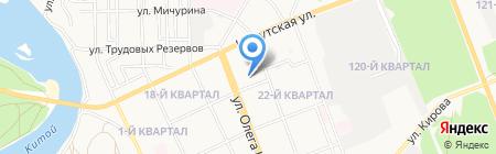 Сарма-Трейдинг на карте Ангарска